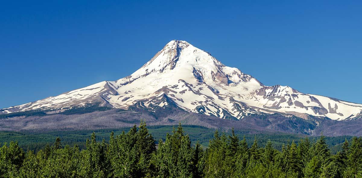 Mt. Hood, daytime