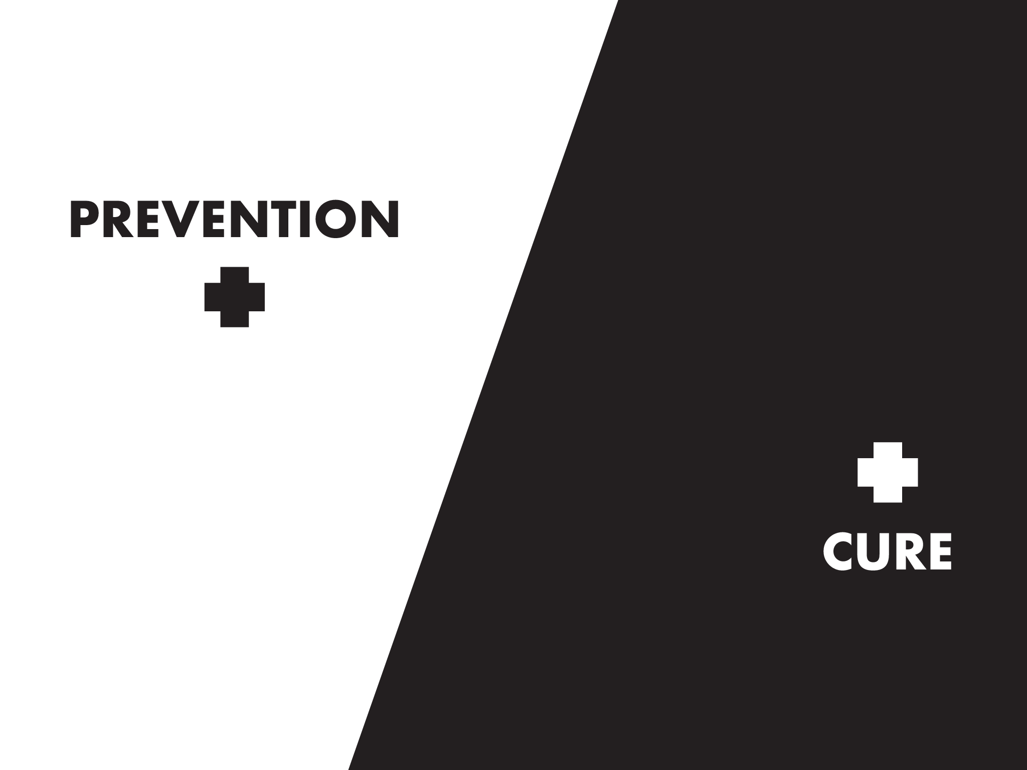 Prevention and Cure Graphic